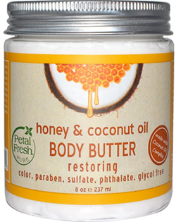 Petal Fresh Restoring Body Butter in Honey & Coconut Oil