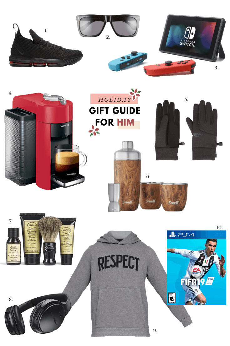 His + Hers Holiday Gift Guides, plus 7 last minute holiday shopping tips