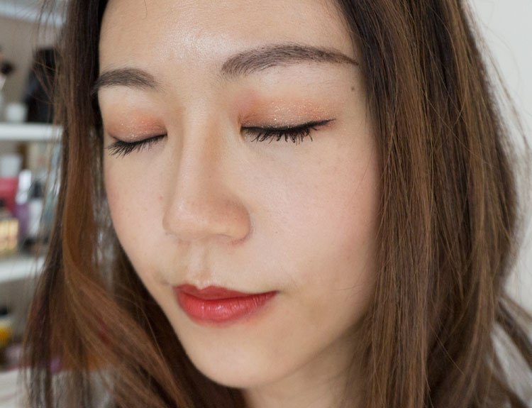 Everyday makeup look with Althea