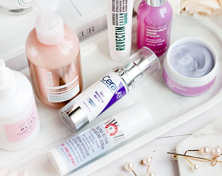 Skincare products + tips for irritated or sensitive skin