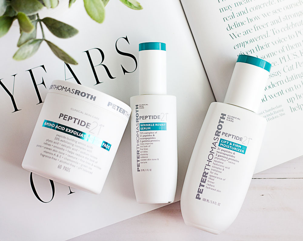 Gentle anti-aging with the Peter Thomas Roth Peptide 21 range
