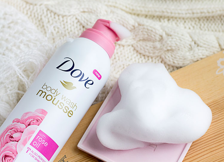 Taking Your Body Care To The Next Level With Dove Body Wash Mousse
