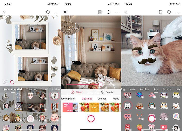 meitu camera app review