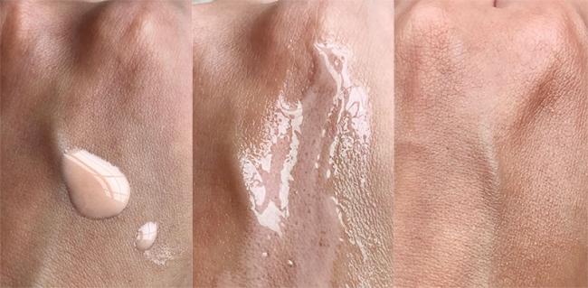 Glass skin glow with Glossier Futuredew