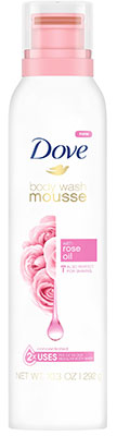 Dove Body Wash Mousse