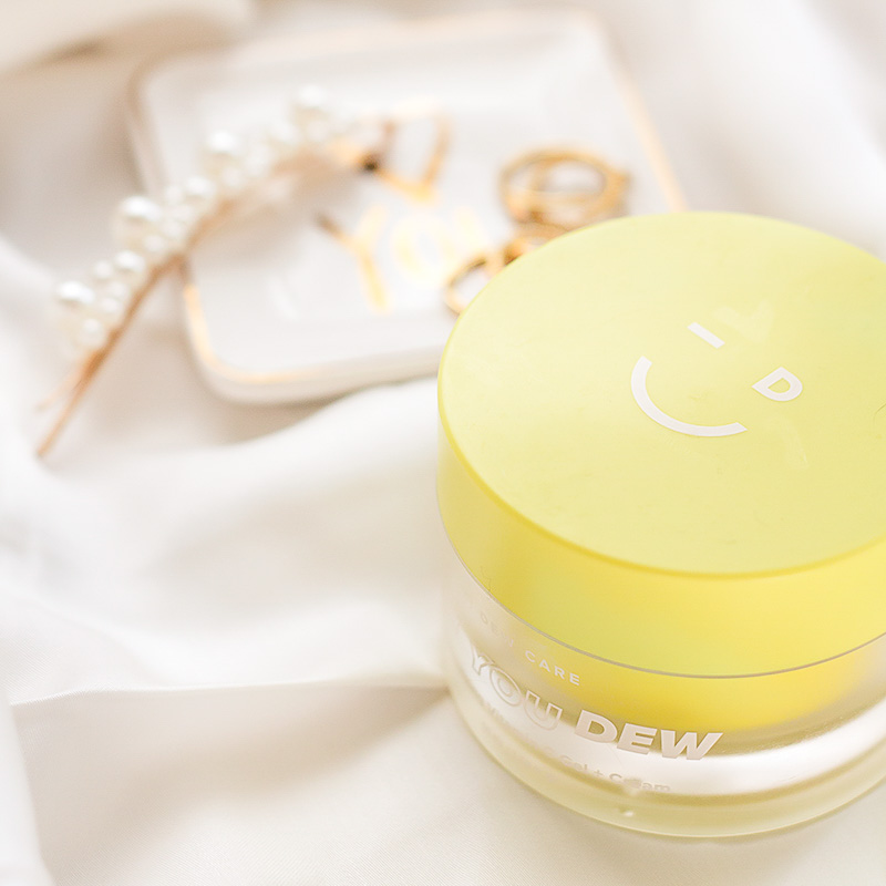 More glass skin glow with the I Dew Care Say You Dew Vitamin C Gel + Cream