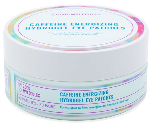 good molecules caffeine energizing hydrogel eye patches review