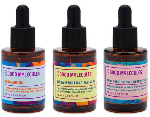 good molecules face oils review
