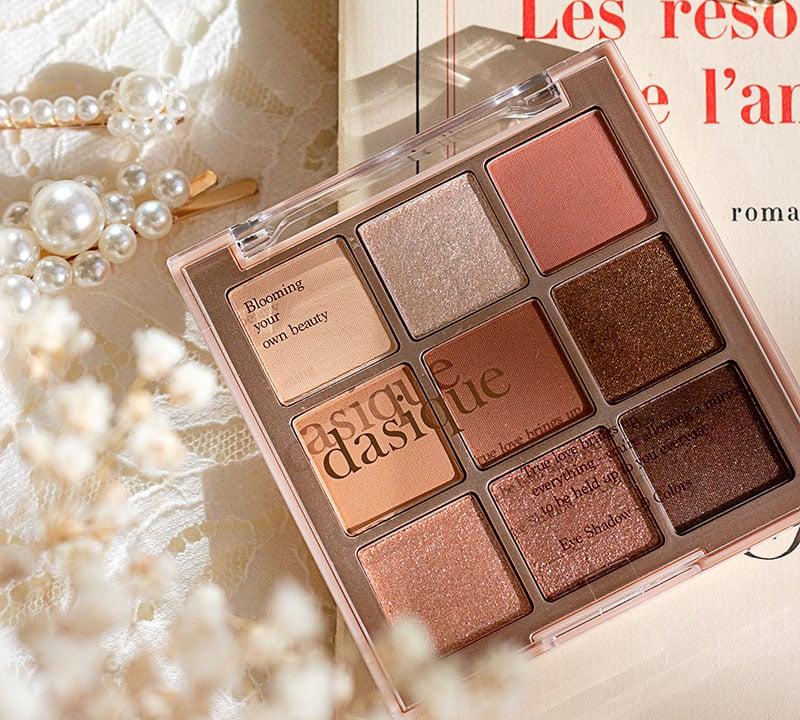 The prettiest eye shadow: Dasique Shadow Palette in Sugar Brownie