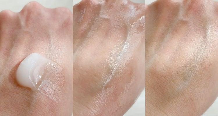 perfect one moisture gel Texture