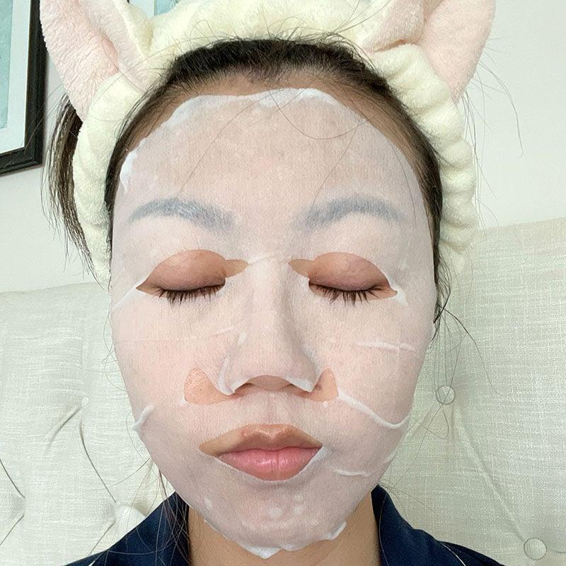 lululun over 45 sheet mask demo